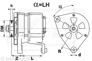 Lucas Lra100 Alternator 32   20506 P together with Ih 454 moreover 124684 in addition I furthermore 266142r1 Ring Gear Flywheel 1. on international 485 tractor